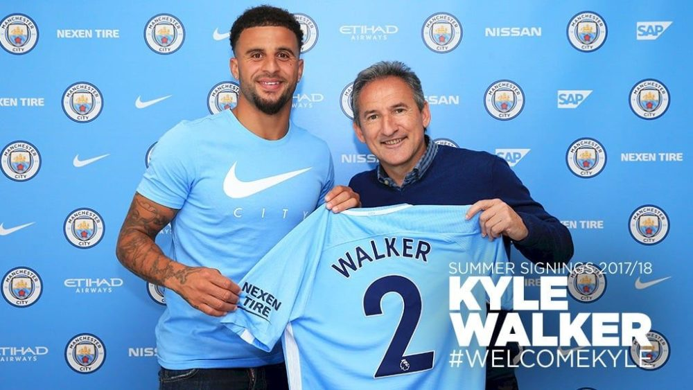 UFFICIALE: Manchester City, colpo Walker: