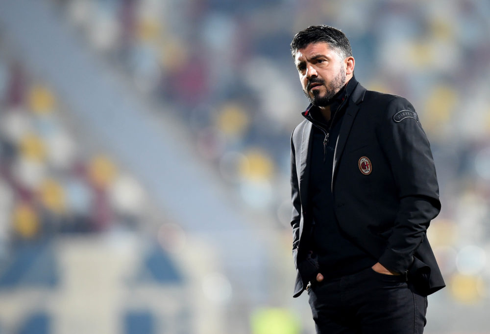 Europa League, Gattuso: